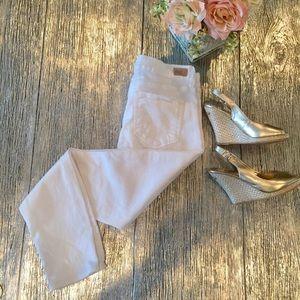 Paige Verdugo White Jeans Sz 28